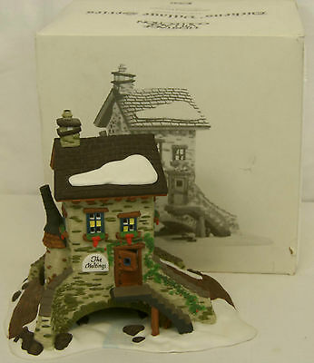 Dept 56 THE MALTINGS Dickens Village Series Lighted Porcelain Building 58335 MIB
