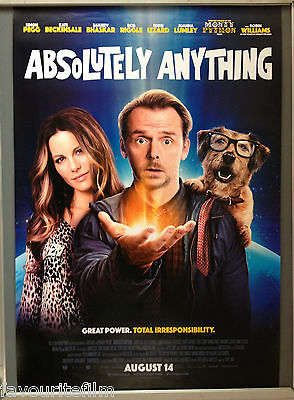 Cinema Poster: ABSOLUTELY ANYTHING 2015 (One Sheet) Kate Beckinsale Simon Pegg