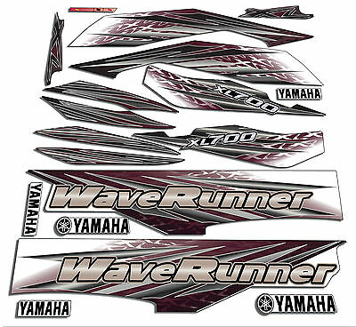 2001 Yamaha xl700 wave runner decals stickers Waverunner 700 xxl graphics kit