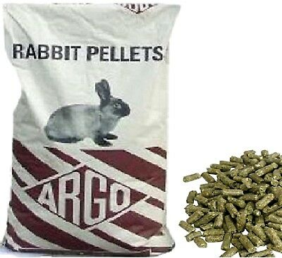 RABBIT PELLETS - (20kg) - Argo Animal Food vf Bunny Dwarf Lop bp Feed PawMits kg
