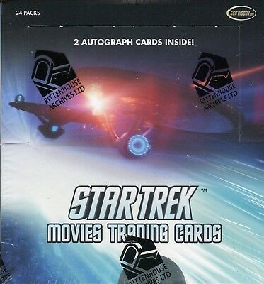Star Trek Movies 2014 Card Box