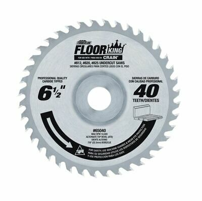 Saw Blade Floor King Comparable to Crain 821 Blade Timberline 65040