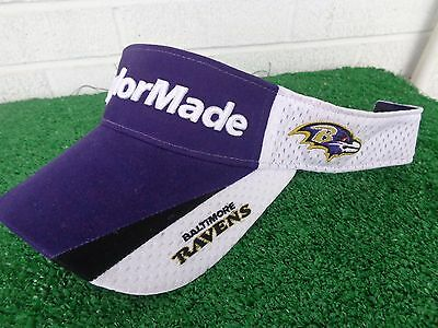 feb16667 JACKSONVILLE JAGUARS TAYLORMADE Golf NFL Team White Golf Visor ...