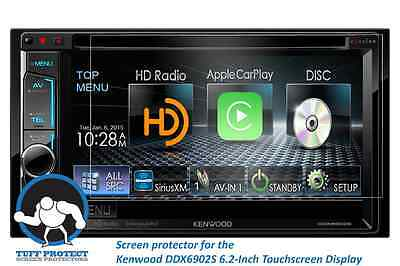 Tuff Protect Clear Screen Protectors for Kenwood eXcelon DDX6902S (2pcs)