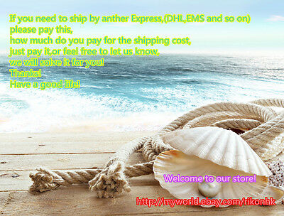 Shipping cost for DHL EMS or others,the fee ask the store