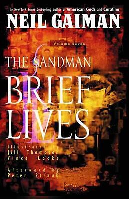 Sandman TP Vol 07 Brief Lives New Ed by Neil Gaiman (English) Paperback Book Fre