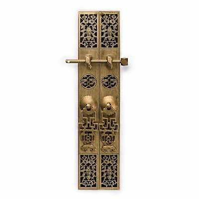 Chinese Brass Hardware Cabinet Door Strips Simple 12""