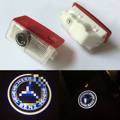 2x LED Car Door Projector light Courtesy Ghost Shadow Laser for Mercedes Benz