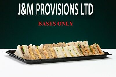 10 X MEDIUM Buffet Catering Partyfood/Sandwich Platter Trays BASES ONLY