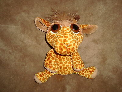 "Russ Peepers Giraffe Leda 9"" Long Plush and Beans"