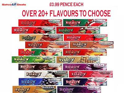 Mixed Flavours Juicy Jay's King Size Slim Rolling Papers