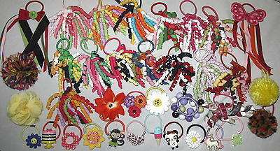 Gymboree Your Choice Pony O Ponytail Holders Pairs Singles Daisy Days Candy