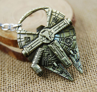 Star Wars Millennium Falcon Bottle Opener Antique Gold Large
