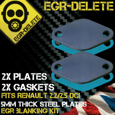 EGR REMOVAL blanking plate kit RENAULT 2.2 2.5 dCi Espace Master Trafic Laguna