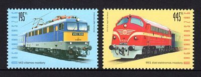 Hungary 2013 Trains Set 2 MNH