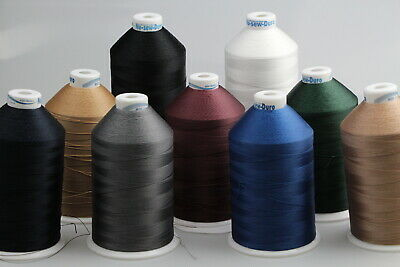 Bonded Polyester Sewing thread UV M30 x 4000mt Horse rug, boat,tents, canvas