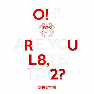 K-POP BTS 1st Mini Album [O!RUL8,2?] CD+74p Booklet+2p Photocard+Folded Poster