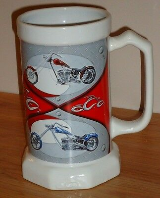 Orange County Choppers 2006 Large MUG Stein motorcycles