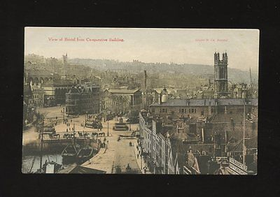 Glos Gloucestershire BRISTOL view from Co-operative Building c1900/10s? PPC