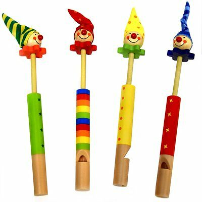 Clown Slide Whistle - Fun Pocket Money Toy - Assorted Colours - Gift Idea