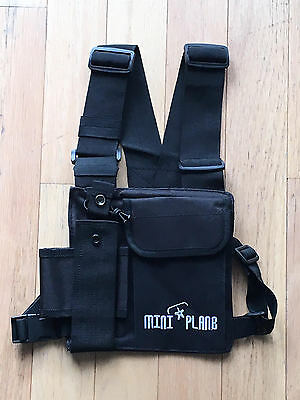 Miniplane-USA Radio Chest Harness: Paramotoring, Paragliding, Powered Paraglider