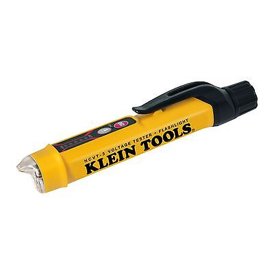 Klein Tools NCVT-3 Non-Contact Voltage Tester with Flashlight **Free Shipping**