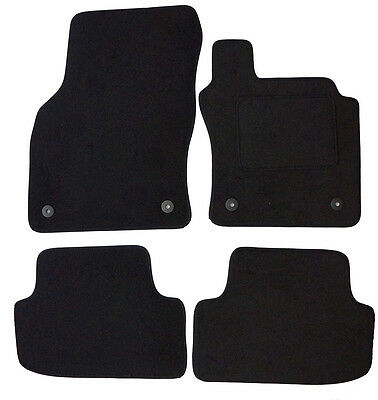 Volkswagen VW Golf MK7 (2012-Date) Black Carpet Fully Tailored Car Floor Mats.