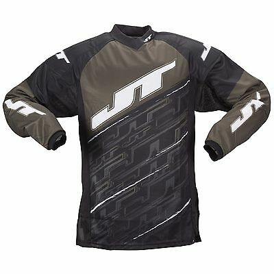 New JT Paintball Tournament Playing Jersey - Olive - Medium M
