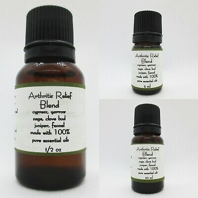 Arthritis Relief Essential Oil Blend Buy 3 get 1 Free add 4 to cart