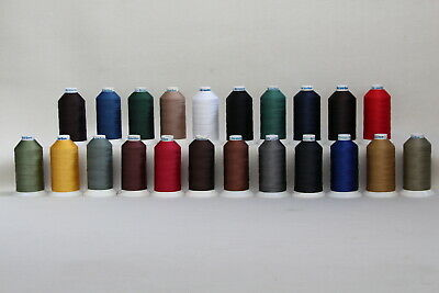 Bonded Polyester Sewing thread UV M20 x 1500mt Horse rug, boat,tents, canvas