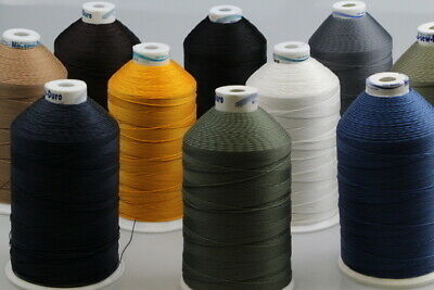 Bonded Polyester Sewing thread UV M10 x 1000mt Horse rug, boat,tents, canvas