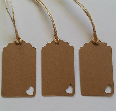 25 Handmade Chic Style Wedding Favours/Gift Tags/Price/Jar Tags