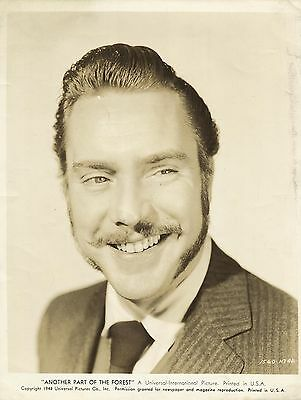 "EDMOND O' BRIEN in ""Another Part of The Forest"" Original Vintage PORTRAIT 1948"