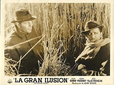"JEAN GABIN in ""La Grande Illusion"" Original Vintage Photo 1937"