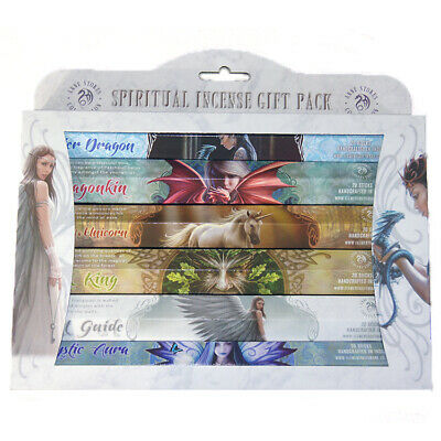 Anne Stokes  Spiritual Incense Gift Pack - 6 Packs of 20 Incense Sticks
