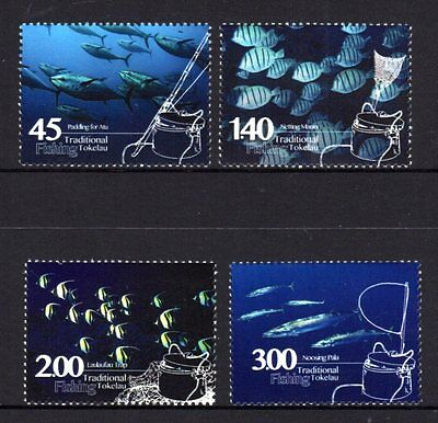 Tokelau 2015 Fishing Set 4 MNH