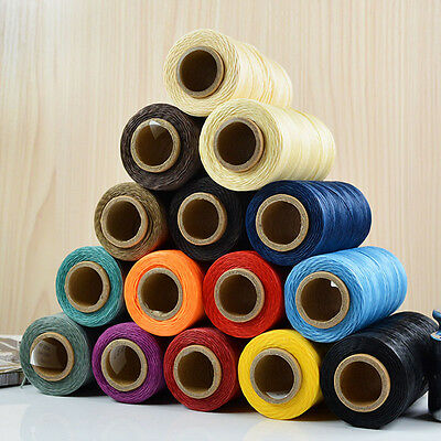 Sewing Waxed Thread 260m Leather 1MM For Chisel Awl Shoes Luggage Set