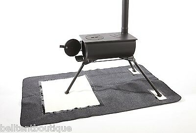 Heat Mat for Frontier / Outbacker Wood Burning Stove by Bell Tent Boutique