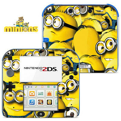 MINIONS ADESIVI Vinyl Skin Sticker for Nintendo 2DS - 009