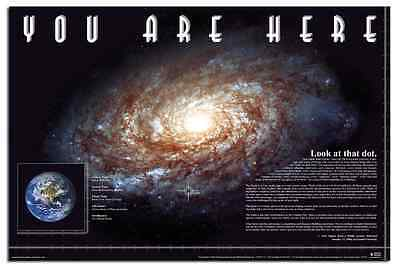 Educational UNIVERSE YOU ARE HERE (Galaxy) - Maxi Poster 61cm x 91.5cm - 494
