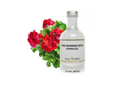 NATURAL TONER & BODY MIST Geranium Water - Cleansing, fortifying and calming
