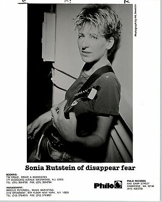 RARE Original Press Photo of Sonia Rutstein of disappear fear an Indie Pop Band