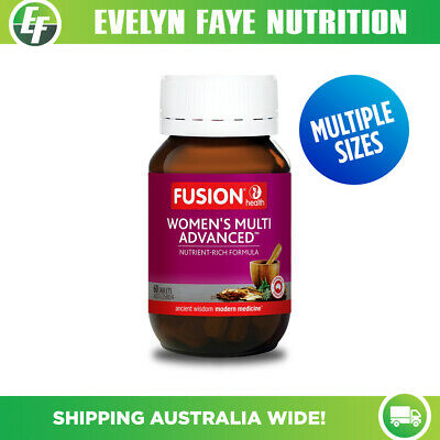 Fusion Health Women's Multi Advanced 60 Tablets | Women's Health