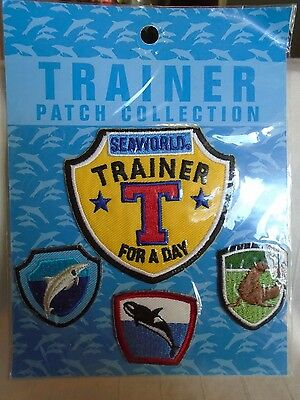 Seaworld Trainer For A Day Patch Collection