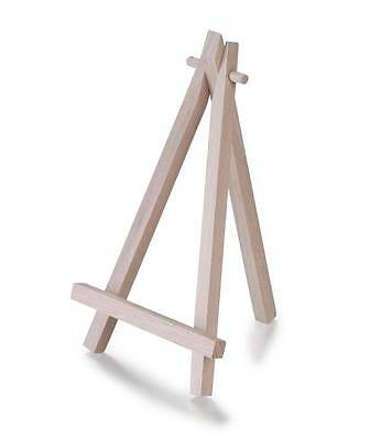 16cm Wooden Artist Mini Easel Stand Painting Canvas Craft Exhibit Display Sturdy