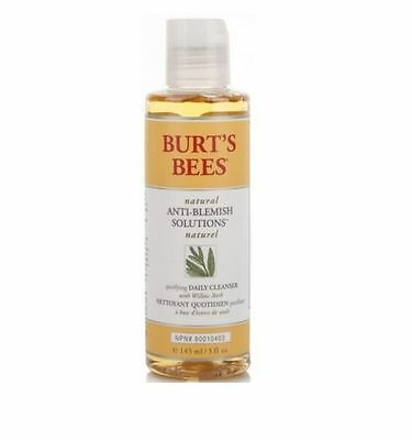 Burt's Bees Anti-Blemish Purifying Gel Cleanser (Natural Clear Skin) - 4 pack