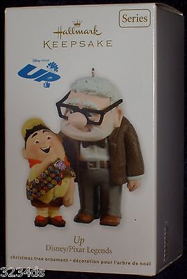 2011 Hallmark UP #1 in Disney/Pixar Legends Ornament Series Russell & Carl NEW