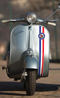 VESPA LAMBRETTA SCOOTER MOD vintage style front fairing stripe THE WHO