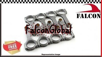 "PEP Falcon H-Beam Forged 4340 Connecting Rods Dodge Mopar 340 360 6.123"" float"