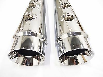 Ultra Limited Harley Davidson Megaphone Slip-On Mufflers Exhaust Pipes Touring